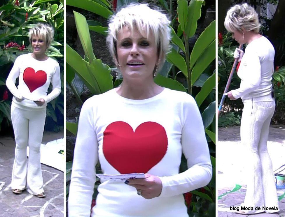 moda do programa Mais Você - look da Ana Maria Braga dia 23 de maio