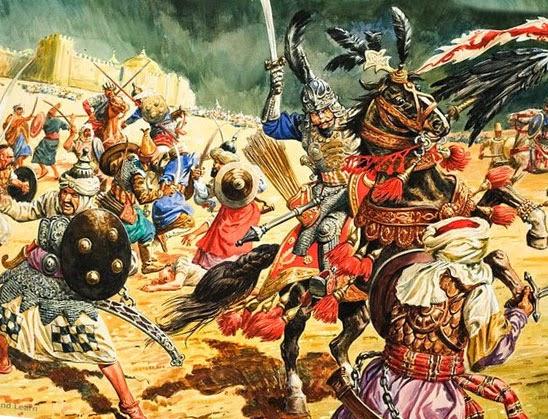 Армия Хорезма в бою