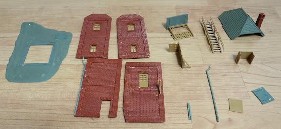Blokstelle Genthin, de losse onderdelen