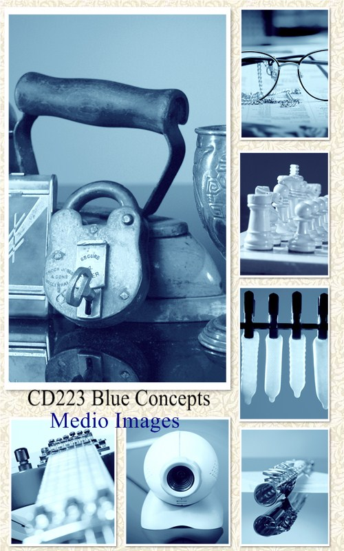 Medio Images: CD223 Blue Concepts