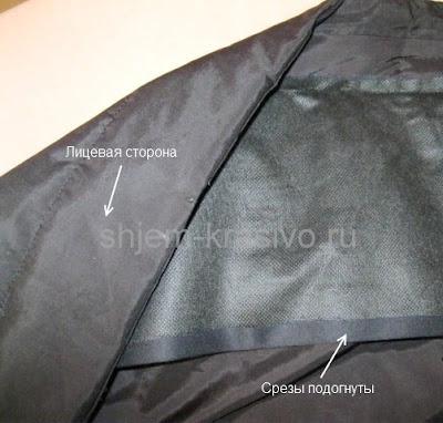 Ремонт воротника куртки своими руками