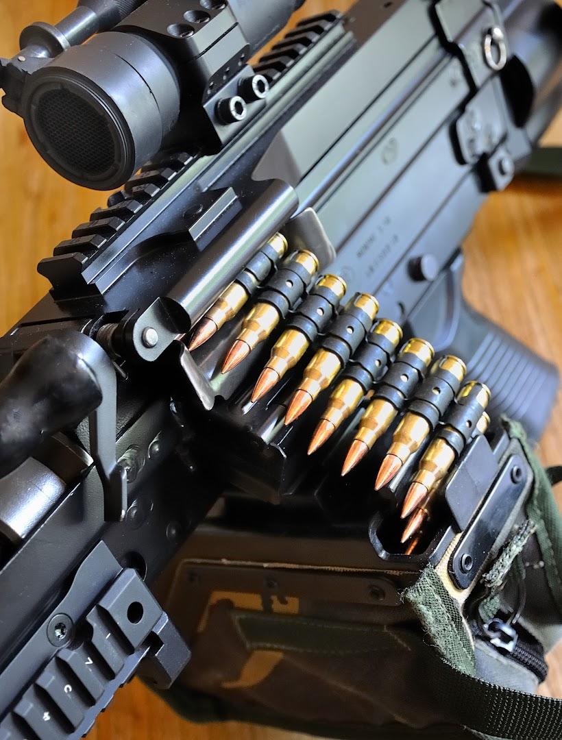 FN Minimi - Sac à munition 100 cps _DSC1227