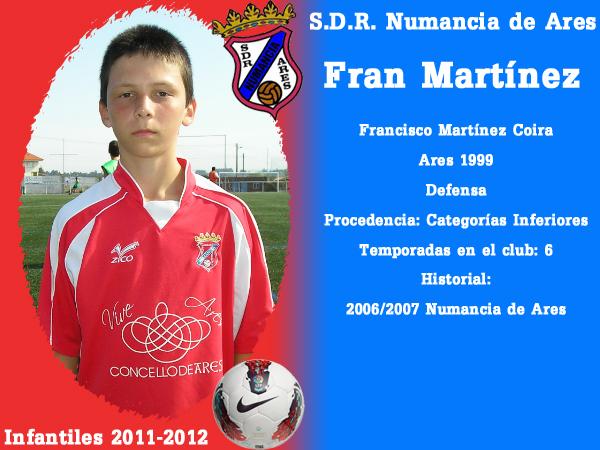 ADR Numancia de Ares. Infantís 2011-2012. FRAN MARTINEZ.