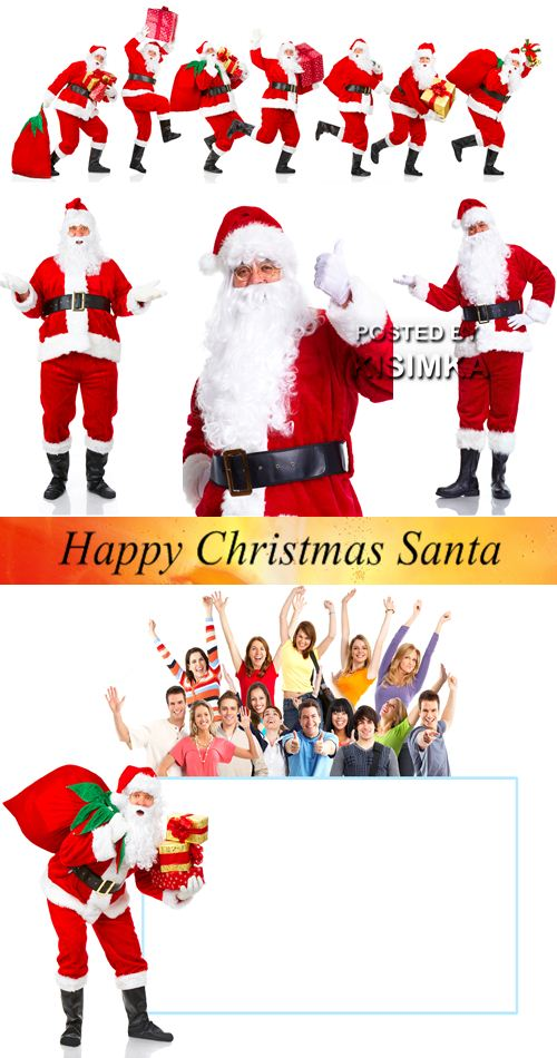 Stock Photo: Happy Christmas Santa