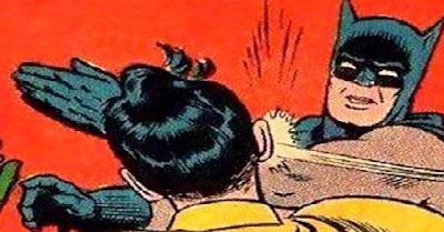 Por que é que o Batman perdeu a cabeça?