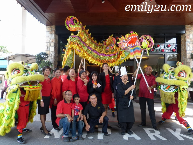 Impiana Hotel Ipoh Chinese New Year celebration