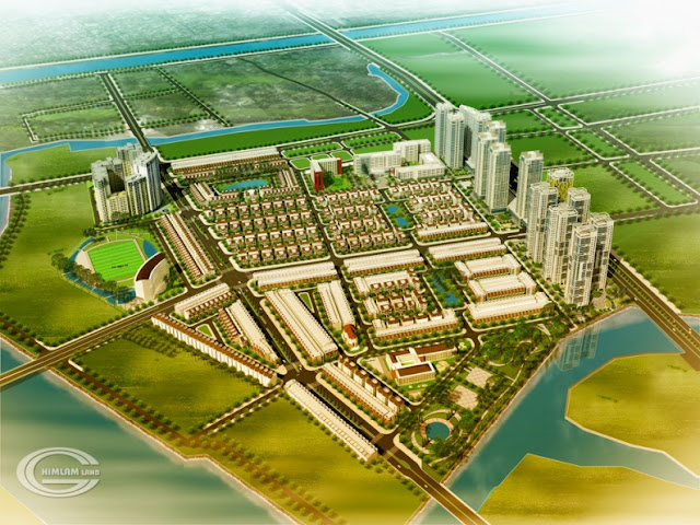 Khu đô thị Him Lam Tân Hưng - Him Lam Kênh Tẻ