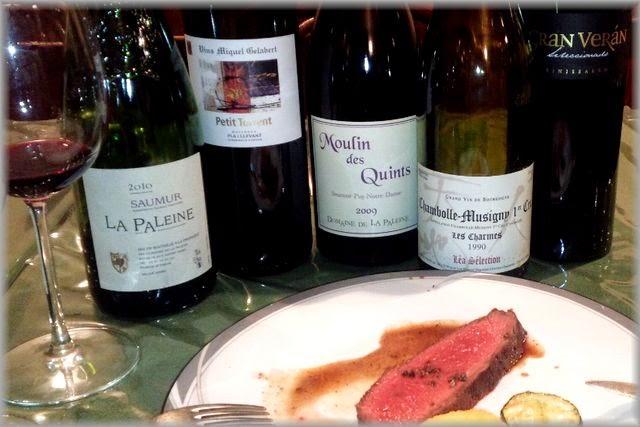 牛肉のローストに合わせるワイン