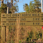GNW sign at the intersection of Brush Creek Rd and Ravensdale Rd (58613)
