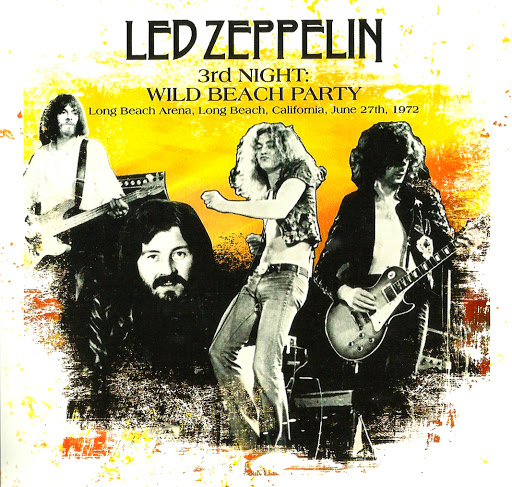 Led Zeppelin 1972 Welcome Back Complete Californian