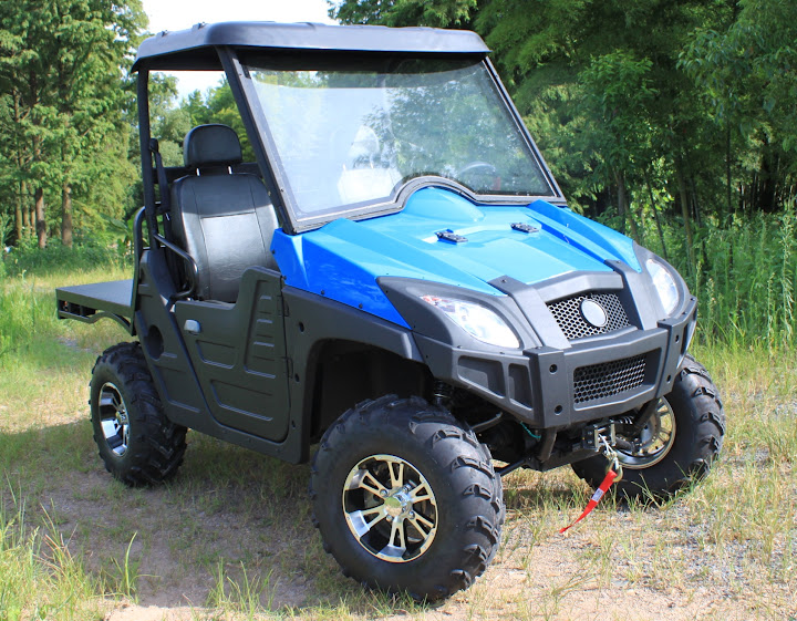 600cc 4x4 Farm UTV with CF moto Engine Blue