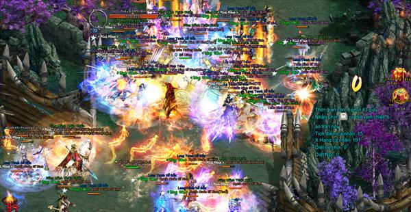 Chiến trường rực lửa trong Ngạo Kiếm Vô Song 1