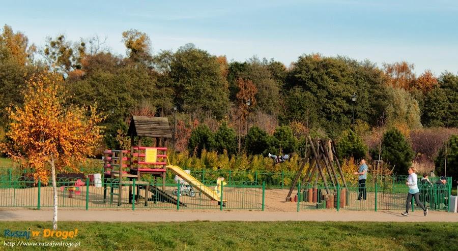 Park Reagana w Gdańsku - plac zabaw dla dzieci