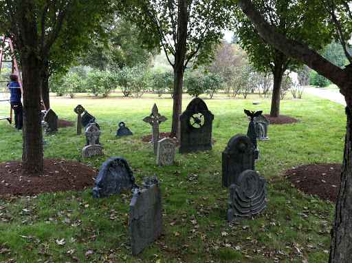 All Haunted Houses need an accompanying graveyard.