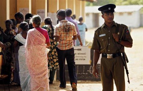 ஊவா மாகாண சபைத் தேர்தல் 2014: வாக்களிப்பு நிறைவு, முதல் முடிவு நள்ளிரவுக்கு முன்!