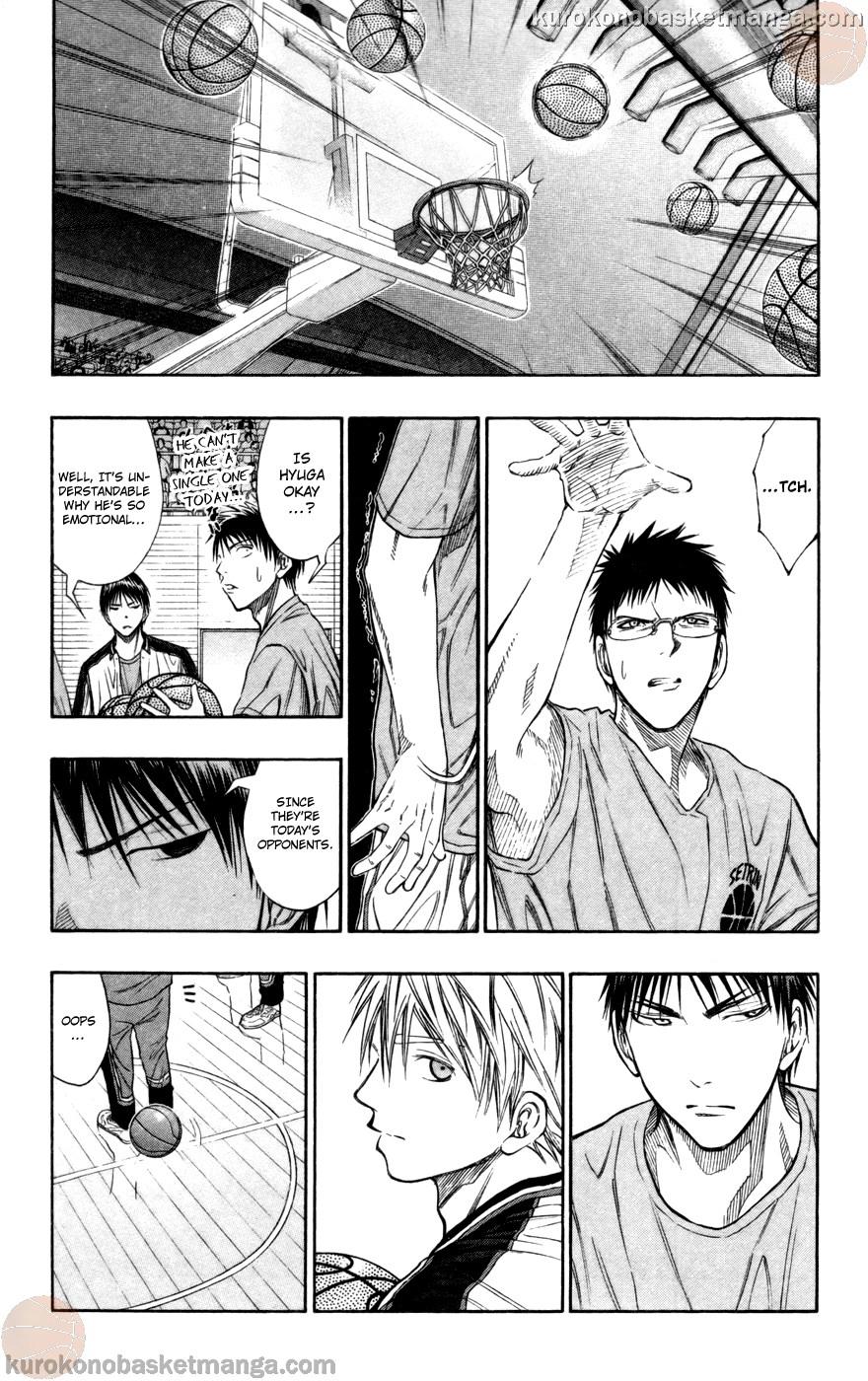 Kuroko no Basket Manga Chapter 100 - Image 11