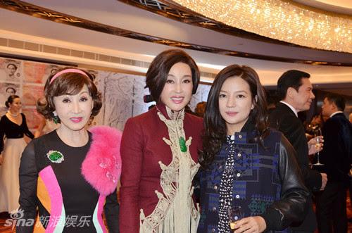 2014.12.07_Triệu Vy dự sinh nhật Lưu Gia Linh