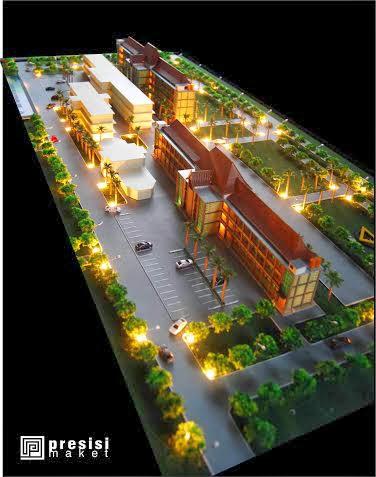 jasa pembuatan maket universitas bikin maket kampus trunojoyo