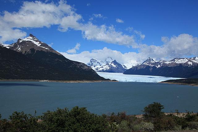 El Perito Moreno desde el mirador