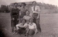 Part of Abbingdon gang. 1946 Winnie Glisberry, Dot Acton Ellen Fulton