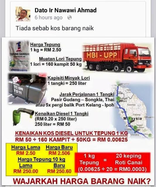 Alasan Menteri Malaysia