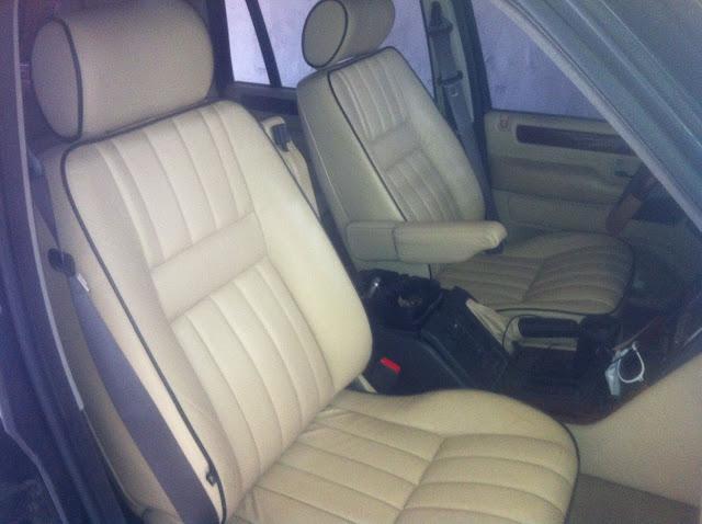 Installation d'un intérieur cuir électrique anglais dans un Pet français à sièges électriques Photo%252819%2529