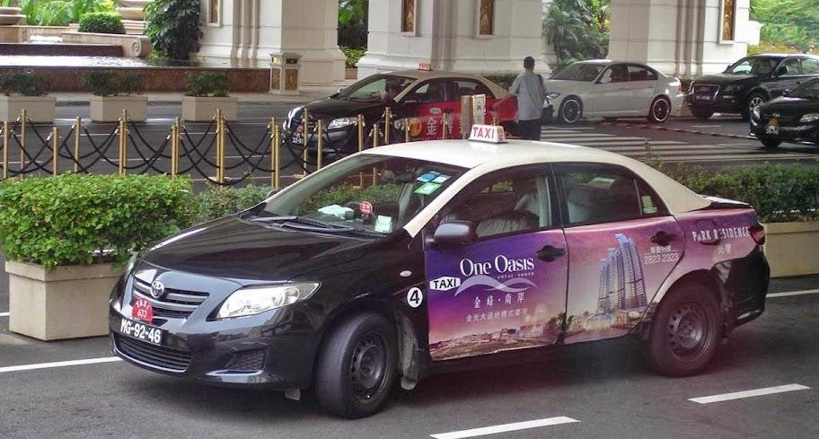 taxis macau