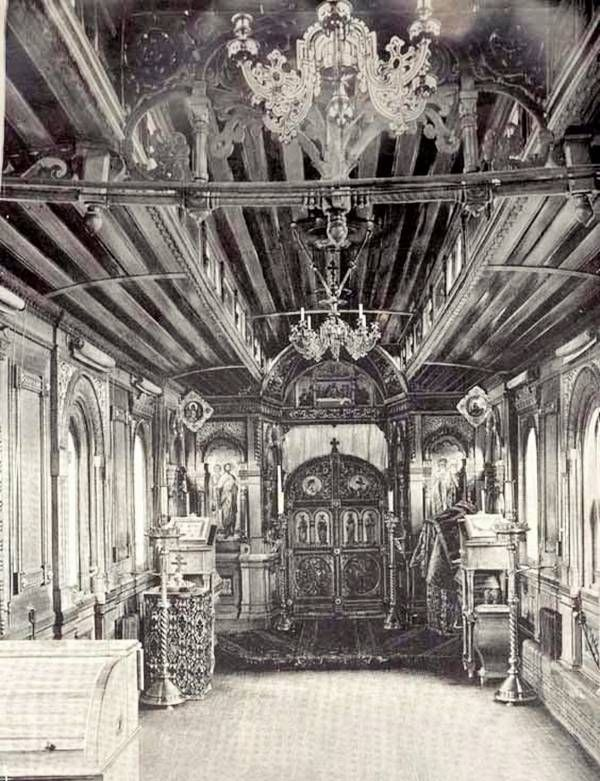 Old Train Transformed Into Churches