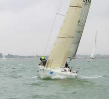 J/92 sailing Solent- Hamble Winter Series