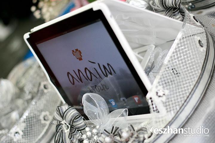 Gubahan perkahwinan iPad