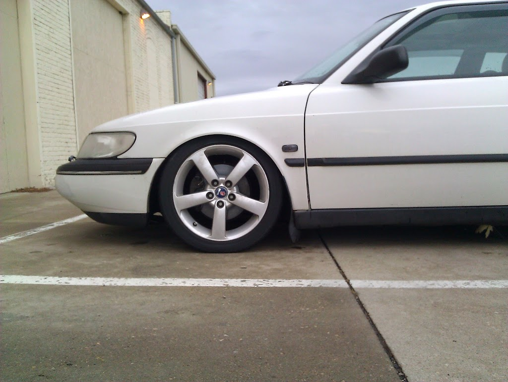 1995 NG900- white and slammed - SaabCentral Forums