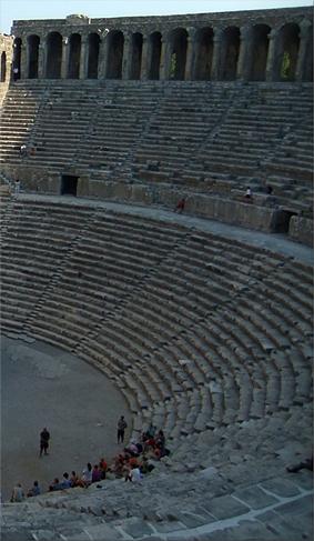 Teatro romano de Aspendos