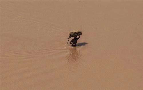 ஜம்மு-காஷ்மீர் மாநிலங்களில் வரலாறு காணாத வெள்ளம் : புகைப்படங்கள்