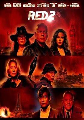 Filme Poster RED 2 - Aposentados e Ainda Mais Perigosos R6 XviD & RMVB Legendado
