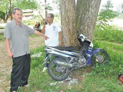 Murid tahun empat diburu kerana curi motosikal