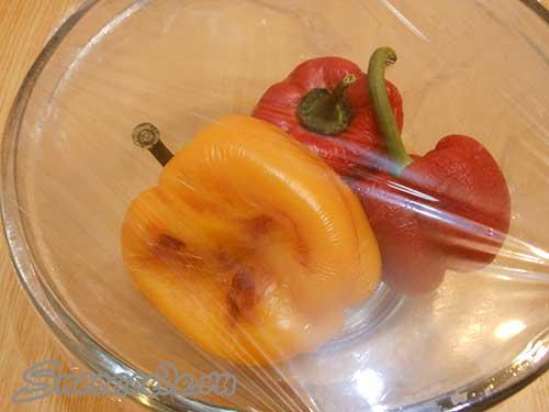 испечь в духовке перец