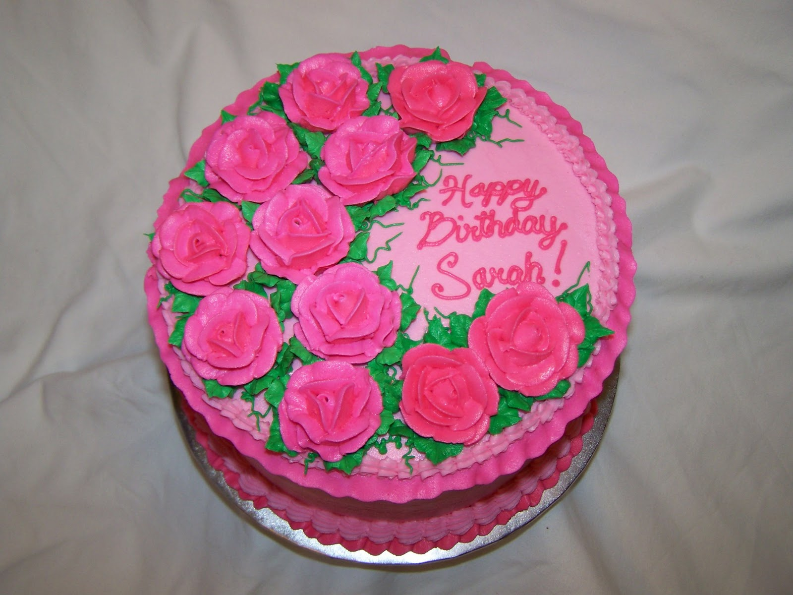 Cakes by Kristen H Pink Roses