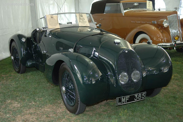 Aston Martin «Type C» Speed Model, 1939 г.