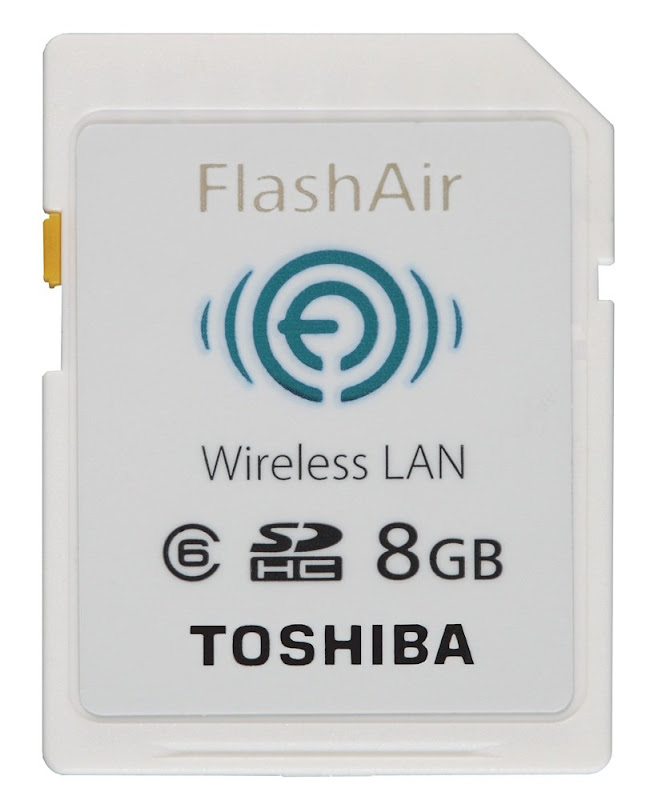 TOSHIBA FlashAir SDカード 8GB