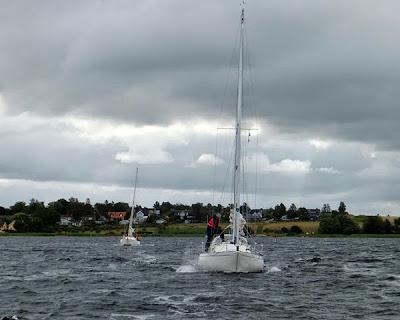 Accent'erne sejler ud fra Jyllinge