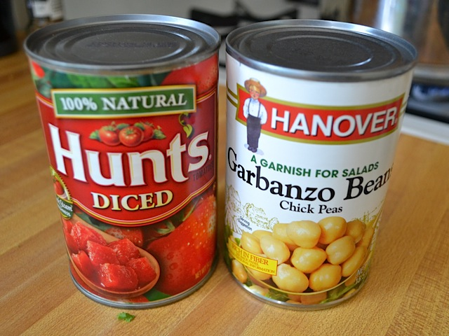tomato and chickpea