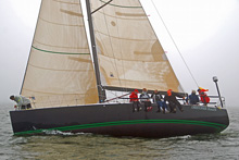 J/122 cruiser-racer sailboat- sailing Vineyard Race