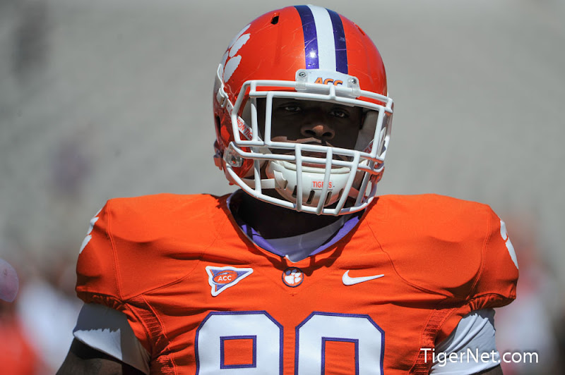 Orange and White Game Photos - 2013, Football, Orange and White, Shaq Lawson