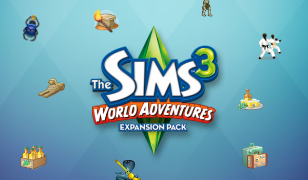 The Sims 3 World Adventures Icons