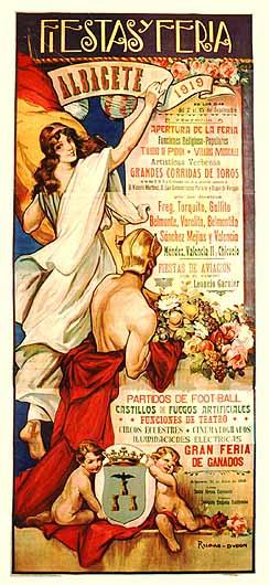 Cartel Feria Albacete 1919