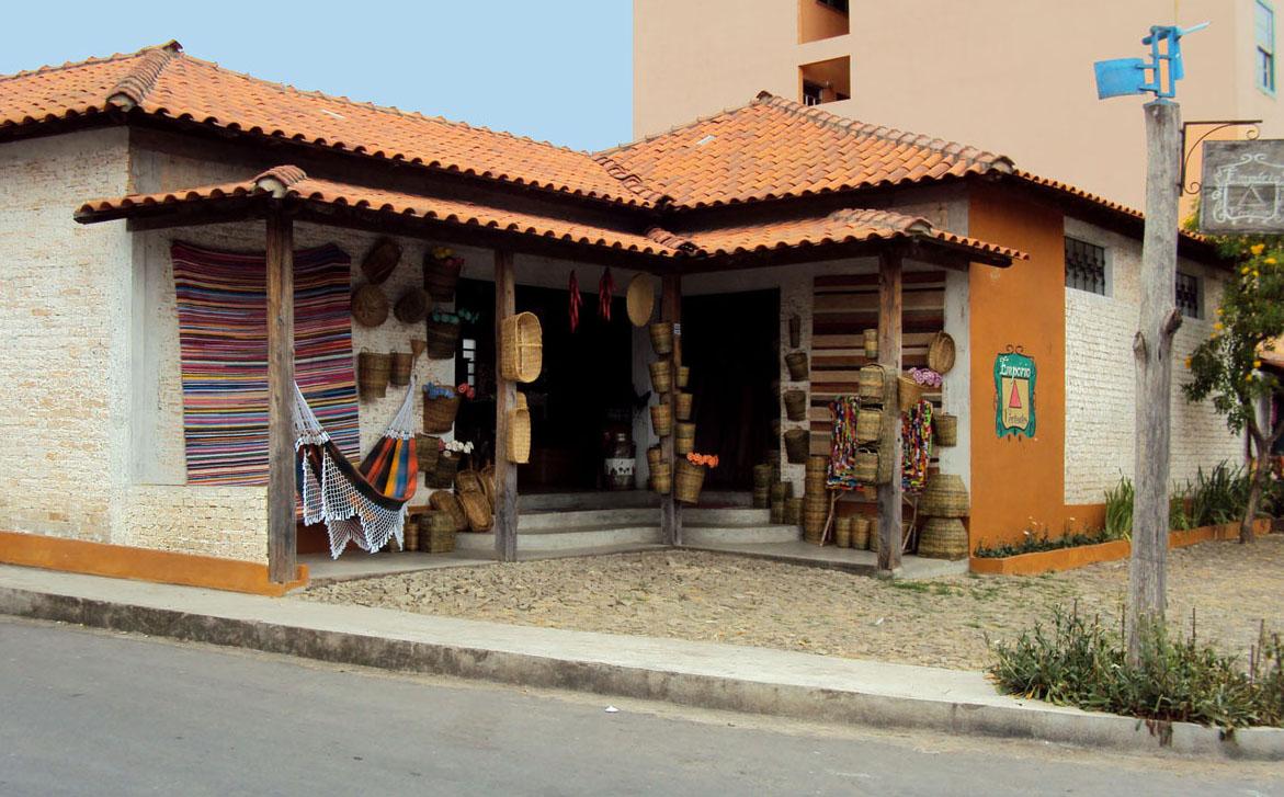 Ddb Artesanato Resende Costa ~ Blog do Empório Vertentes Fachada da Loja