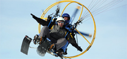 Paragliding in den Karpaten