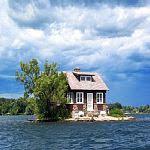 1000の小島にコテージ一軒ずつ・サウザンド諸島