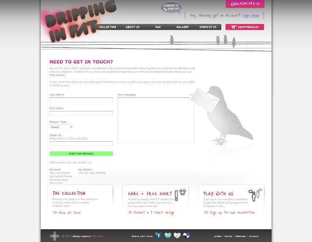 *宛如身歷其境的服飾購物網|Dripping In Fat Web Site 6