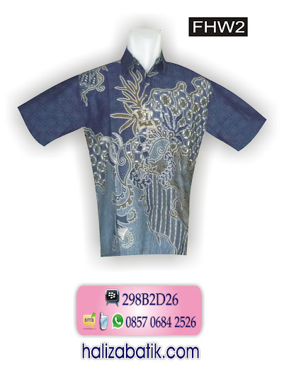 FHW2 Model Hem Batik, Batik Hem, Baju Hem, FHW2